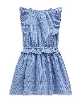 Ralph Lauren - Girls' Ruffle Gingham Dress - Little Kid
