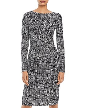 BOSS - Ejay Jersey Printed Dress