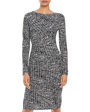 Boss Ejay Jersey Printed Dress