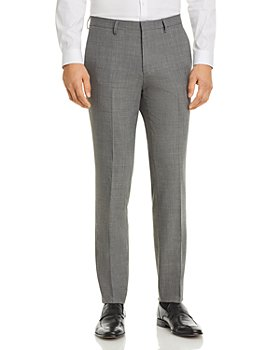 HUGO - Hesten Textured Extra Slim Fit Suit Pants