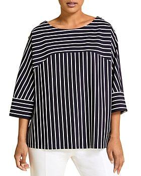 Marina Rinaldi - Obliare Striped Sweatshirt