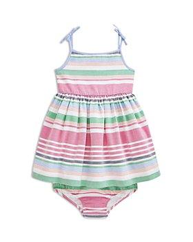 Ralph Lauren - Girls' Cotton Oxford Striped Dress - Baby
