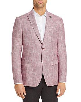 John Varvatos Star USA - Bond Linen Blend Slim Fit Sportcoat