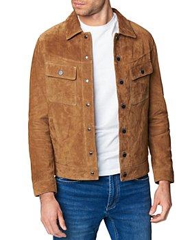 BLANKNYC - Leather Trucker Jacket