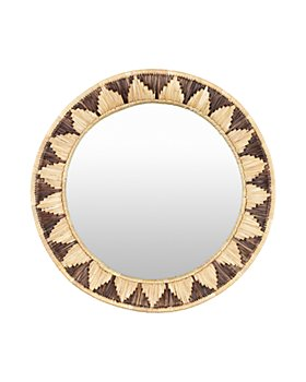 "Surya - Dastkar Mirror, 22"" x 22"""