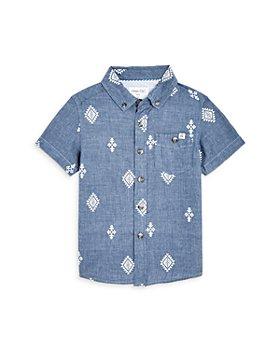 Sovereign Code - Boys' Ace Printed Chambray Shirt - Little Kid, Big Kid