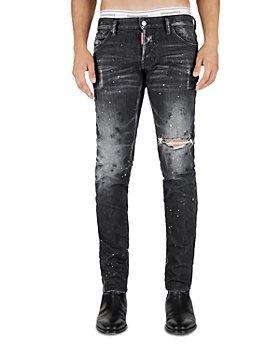 DSQUARED2 - 64 T Slim Fit Jeans in Black