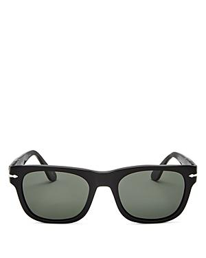 Persol Men's Polarized Square Sunglasses, 52mm