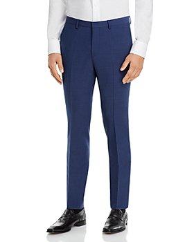 HUGO - Hesten Textured Solid Extra Slim Fit Suit Pants