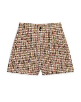 Sandro - Hubert Zip Front Tweed Shorts
