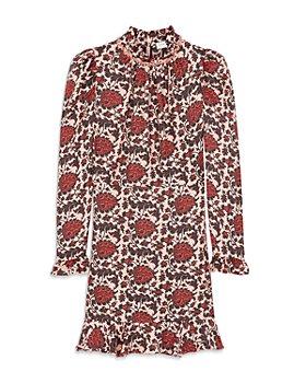 Sandro - Lyah Short Printed Mini Dress