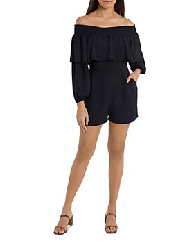 1.STATE - Off The Shoulder Romper