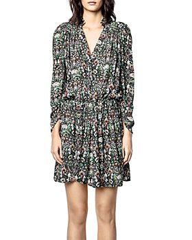 Zadig & Voltaire - Reveal Kaleidoscope Print Mini Dress