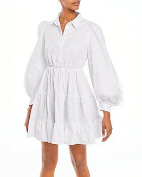 Bardot - Cotton Poplin Mini Dress