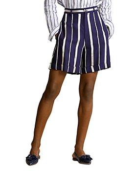 Ralph Lauren - Striped Cuff Shorts