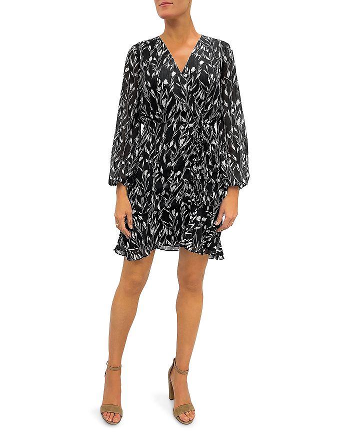 Sam Edelman - Floral Ruched Wrap Dress