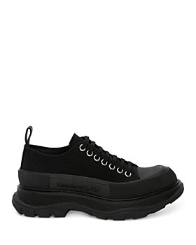 Alexander McQUEEN - Men's Tread Slick Canvas Lace Up Sneakers