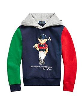 Ralph Lauren - Boys' Polo Bear Colorblock Hoodie - Little Kid, Big Kid
