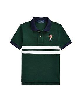 Ralph Lauren - Boys' Polo Bear Mesh Polo Shirt - Little Kid