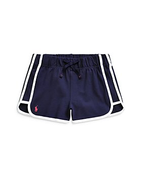 Ralph Lauren - Girls' Mesh Shorts - Big Kid, Little Kid