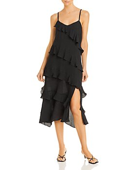 AQUA - Kristina Ruffle Dress - 100% Exclusive