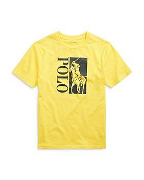 Ralph Lauren - Boys' Graphic Logo Tee - Big Kid, Little Kid