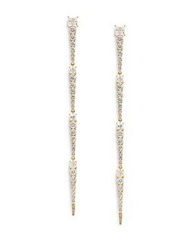 Nadri - Glam Slam Statement Line Earrings