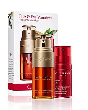 Clarins - Double Serum & Total Eye Lift Set ($178 value)