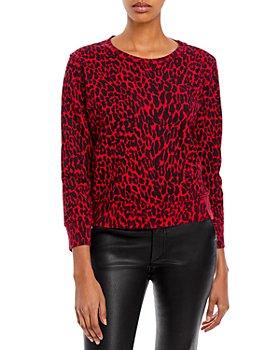 MOTHER - The Koozie Cotton Printed Sweatshirt