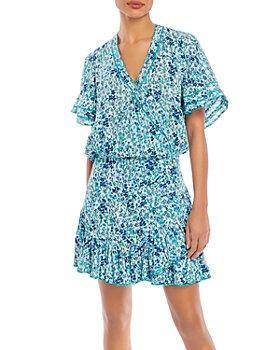 Poupette St. Barth - Mabelle Printed Mini Dress