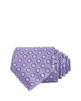 The Men's Store at Bloomingdale's - Floral Medallion Silk Classic Tie - 100% Exclusive