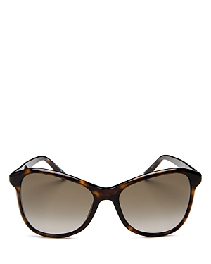 Givenchy Women's Cat Eye Sunglasses, 56mm In Brown