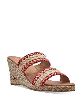Andre Assous - Women's Nolita Raffia Espadrille Wedge Sandals