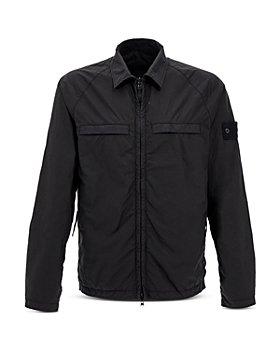 Stone Island - Coated Shirt Jacket
