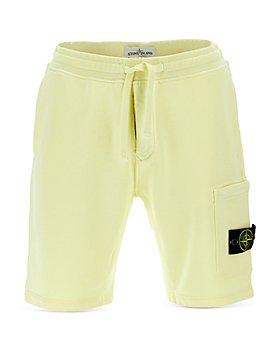 Stone Island - Logo Fleece Shorts
