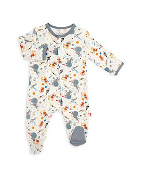 MAGNETIC ME - Boys' Astro Pups Printed Footie - Baby