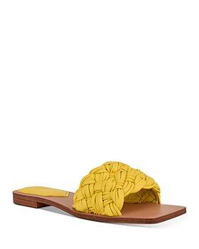 Marc Fisher LTD. - Women's Reanna Slip On Woven Sandals