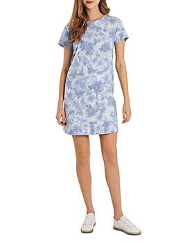 VINCE CAMUTO - Tie Dye T-Shirt Dress