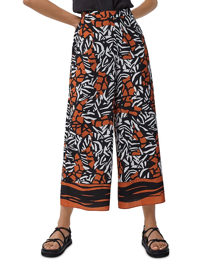 FRENCH CONNECTION - Afara Printed Culottes