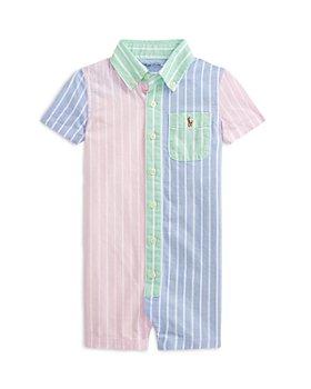 Ralph Lauren - Boys' Oxford Stripe Coverall - Baby