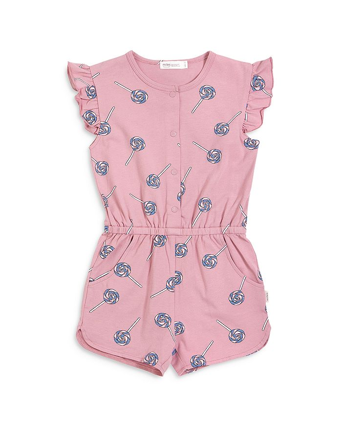 MILES BABY Climbing clotheses GIRLS' LOLLYPOP ROMPER - BABY