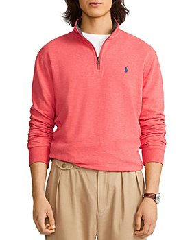 Polo Ralph Lauren - Double Knit Quarter-Zip Pullover