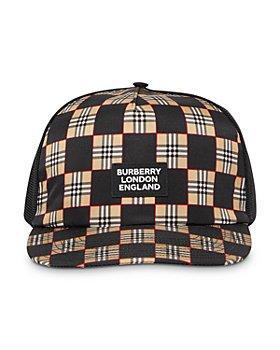 Burberry - Chequer & Mesh Baseball Cap