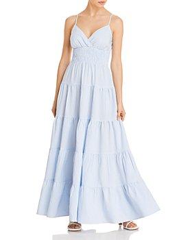 LINI - Jo Smocked Maxi Dress - 100% Exclusive