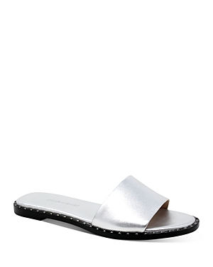 Women's Trunk Studded Slide Sandals