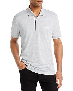 BOSS - Pauletech Mélange Slim Fit Polo Shirt