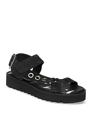 Women's Rhianne Black Suede Sandals
