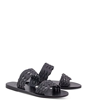 Ancient Greek Sandals - Women's Melia Woven Slide Sandals