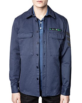 Zadig & Voltaire - Navy Cotton Shirt