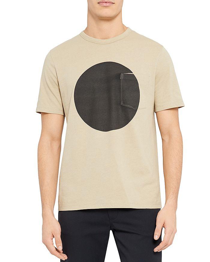 Theory - Essential Sphere Geometric Print Tee